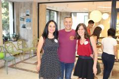 """Cu Carmen și Andreea la evenimentul de lansare Sezon 3 """"Dăruiește pentru Educație!"""""""